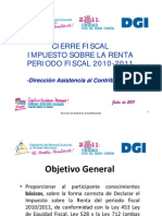 Seminario_CIERRE_IR_ANUAL_2010-2011-V1