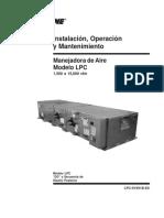 Manual de Instalacion de Manejadora de Aire