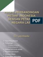 Profil Per Banding An Petani Indonesia Dengan Petani Di Negara
