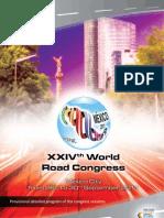 Programa Preliminar Congreso Mundial Mexico Sept2011