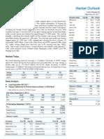 Market Outlook 8th September 2011