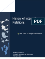 History of International Real at Ions