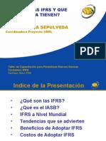 Las IFRS y Objetivos Estados Financieros