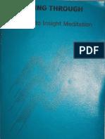 Bhikkhu Nanananda Seeing Through - A Guide to Insight Meditation