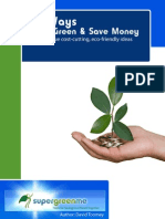 101 Ways to Go Green & Save Money