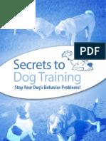 Secrets to Dog Training v7.0