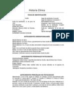 Historia Clínica-neumotorax espontaneo primario
