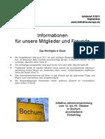 Initiative Infobrief Nr. 2-2011