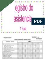 REGISTRO DE ASISTENCIA