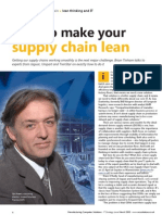 Make Your Supply Chain Lean
