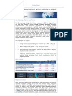 Eurekahedge Index Flash - September 2011