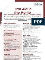 First+Aid+in+the+Home