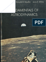Fundamentals of Astrodynamics Bate Mueller and White 0486600610