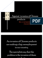 Invasion of Chinese Products