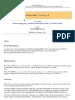 Win32 Morto.a Malware PDF