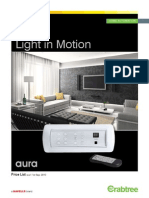 Aura Catalogue Price List