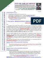 110908-Premier Ted Baillieu-re State Land Tax - Freedom of Speech -Infringement