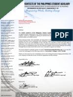 DOT Marketing Letter