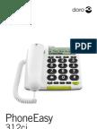 Manual DoroPhoneEasy312ci en Fr Sp It Gr