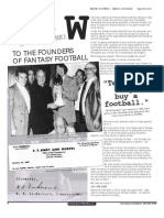 Fantasy Football History