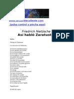 49905007 Friedrich Nietzsche Asi Hablo Zaratustra Libros Literatura Obra Escritores Diseno Poesia Clarin