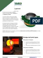 Dredge Ball Joint Brochure