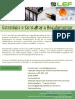 Assuntos Regulamentares - Estratégia e Consultoria Regulamentar
