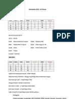 Schedule 2011 of Chuza