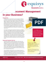 Why Use Document Management