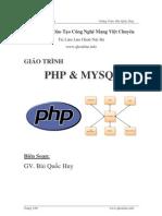 Giao trinh PHP and MySQL can ban