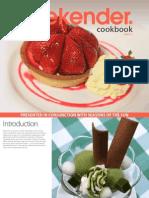 Weekender Recipe Book Volume Two