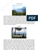 Objek Wisata Sumatera Utara