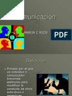 COMUNICACION Y VISITA