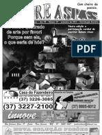 Fanzine Entre Aspas edição de  Setembro