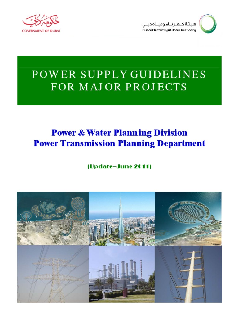 powe supply guidelines for major project june 2011 update rh es scribd com Electrical Substation Power Transmission Substation