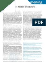 Kotan. Het dogma van de flexibele arbeidsmarkt. Economisch Statistische Berichten 96(4611). 2011