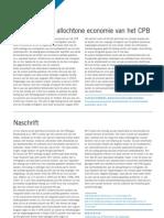 Kotan. De Allochtone Economie Van Het CPB; REACTIE en NASCHRIFT Economisch Statistische Berichtenten 2008