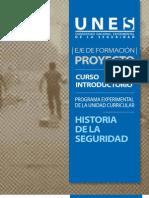 Programa Historia Seguridad Web