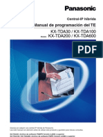 Manual Programacion Panasonic KX-TDA100 (1)