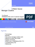Basic MQ Queue Manager Cluster
