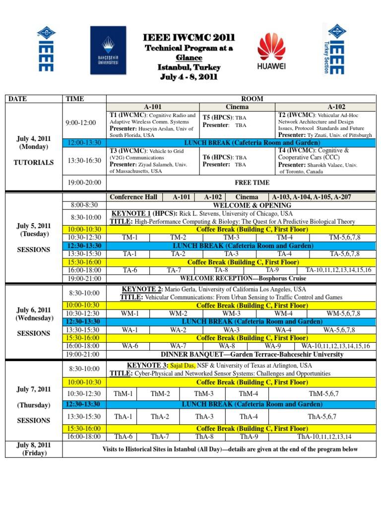 Iwcmc 11 Program Final Mimo Wireless Sensor Network Model Train And Slotcar Controller Circuit Diagram Tradeoficcom