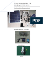 Solar Home Unit-Catalogue