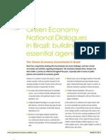 Brazilian National Dialogue - a short paper