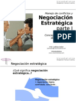 Confer en CIA Negociacion Estrategica Parte I Conceptos y Principios