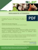 Medicamentos Veterinários - serviços LEF