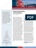Turkish Foreign Relations and Public Opinion
