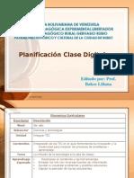 Planificación Clase Digital
