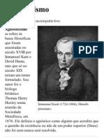 Agnosticismo – Wikipédia, a enciclopédia livre