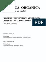 Morrison R., Boyd R. - Quimica Organica - 2° ed