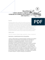 Baudrillard Cultura Simulacro y Regimen de Mortandad en El Sistema de Los Objetos
